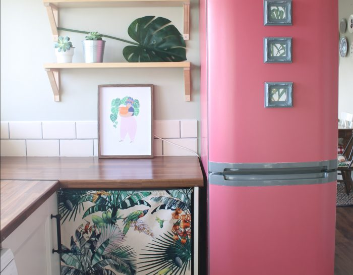 How to turn your fridge bright pink in 24 hours.
