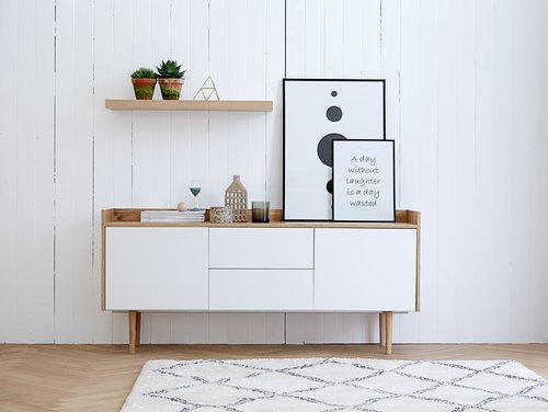 Five retro inspired sideboards, for under €550